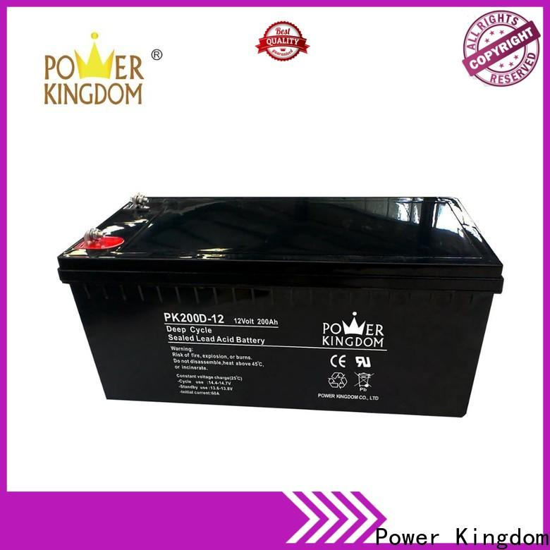 poles design 100 amp hour agm deep cycle battery personalized