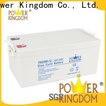 Power Kingdom the best agm battery factory wind power systems