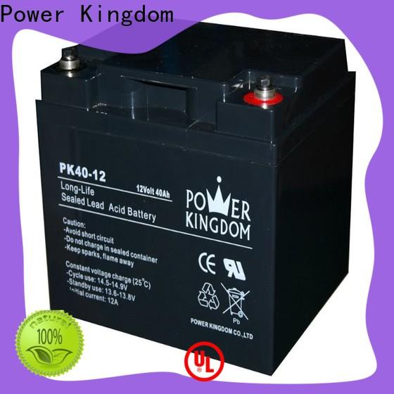 Power Kingdom cheap 12v deep cycle battery supplier vehile and power storage system