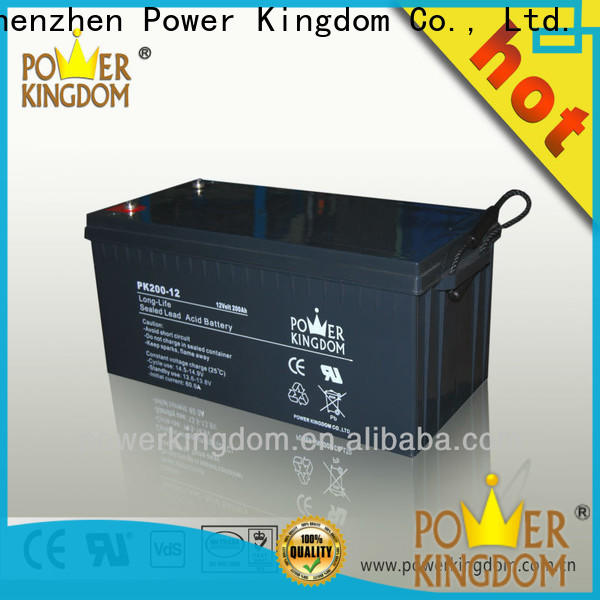 Power Kingdom Wholesale 120ah agm battery Suppliers vehile and power storage system