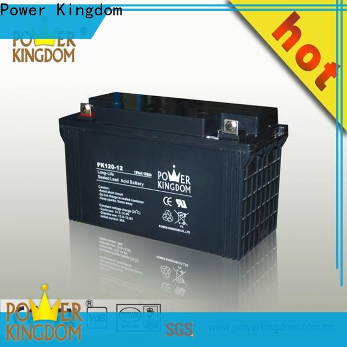 Power Kingdom 120 amp deep cycle battery Supply
