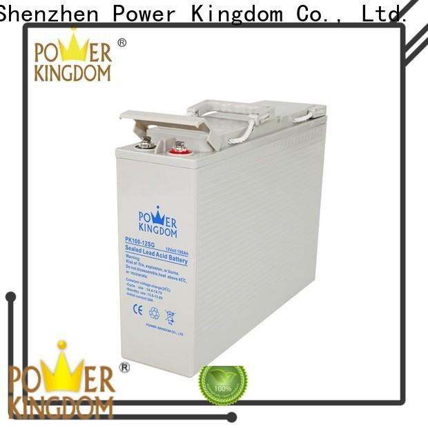 Power Kingdom lead acid gel battery factory price