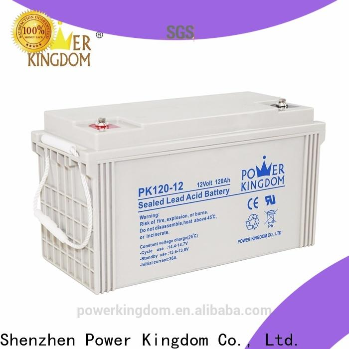 Power Kingdom 110ah deep cycle battery factory