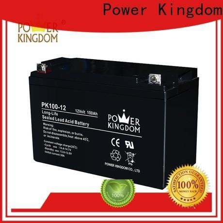 Power Kingdom solar cheap deep cycle marine battery personalized