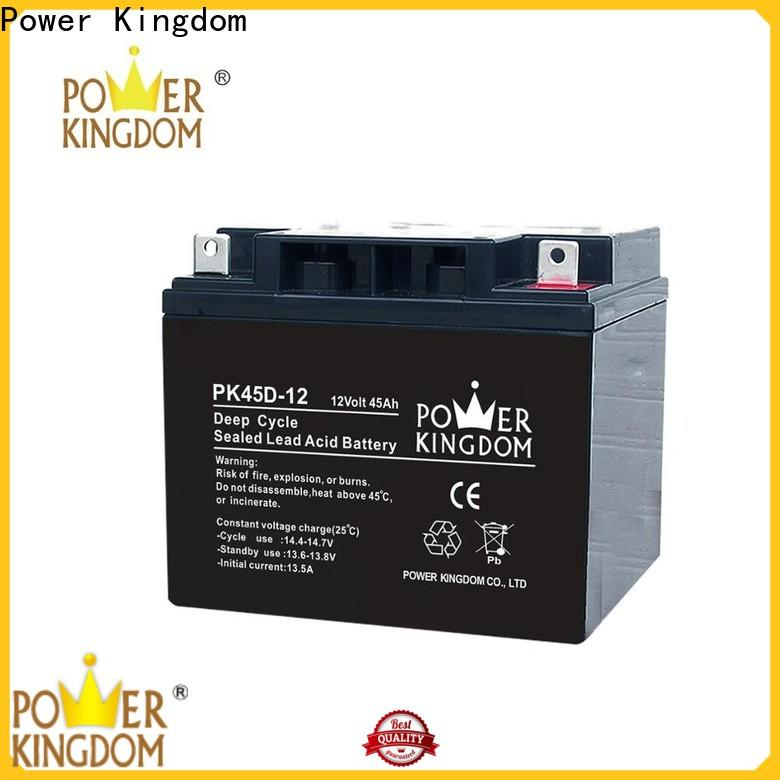 Power Kingdom sealed gel battery factory