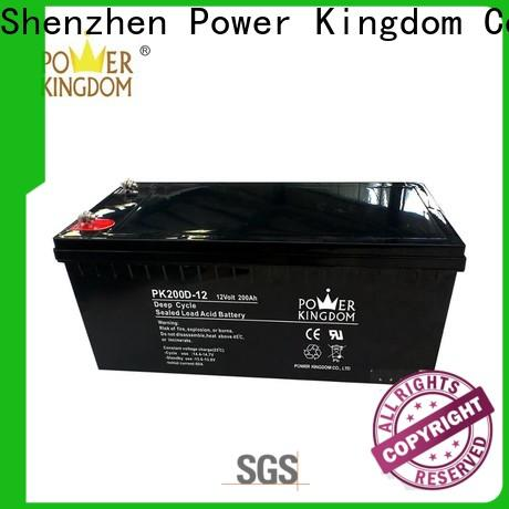 Power Kingdom Best deka deep cycle battery manufacturers vehile and power storage system