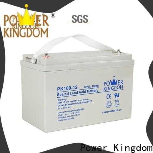Power Kingdom Custom deep cell manufacturers vehile and power storage system