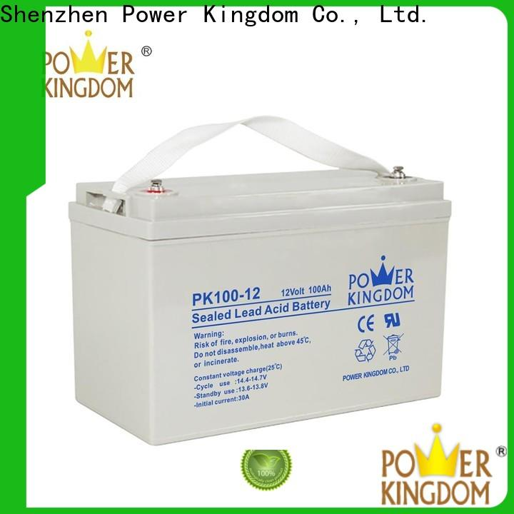 Power Kingdom solar mini deep cycle battery Suppliers