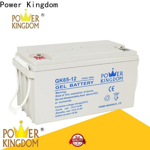 Power Kingdom New cheap 12v deep cycle battery supplier