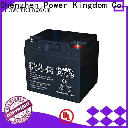 Power Kingdom Heat sealed design lead acid battery types Suppliers wind power systems