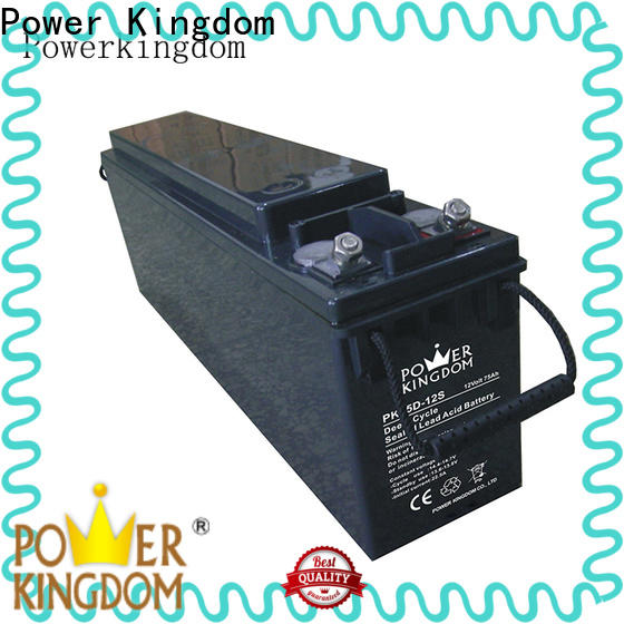 Power Kingdom Custom motorbike gel battery manufacturers