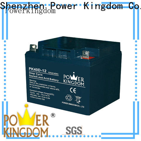 Power Kingdom 100ah agm deep cycle battery supplier wind power systems