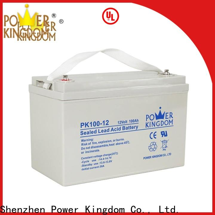 Power Kingdom best sealed deep cycle battery for business