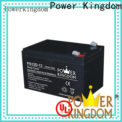 New 12 volt deep cycle sealed marine battery supplier deep discharge device