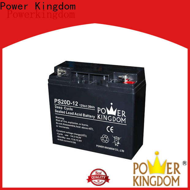 Power Kingdom cycle 12v agm for business
