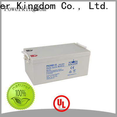Power Kingdom no electrolyte leakage sla agm company vehile and power storage system