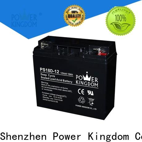 Power Kingdom Wholesale agm marine batteries for sale Supply wind power systems