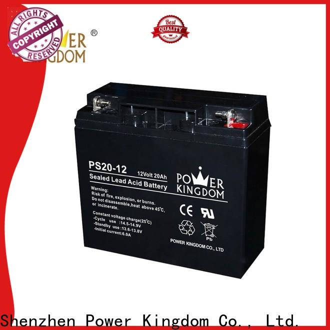 Power Kingdom large deep cycle marine battery wholesale deep discharge device