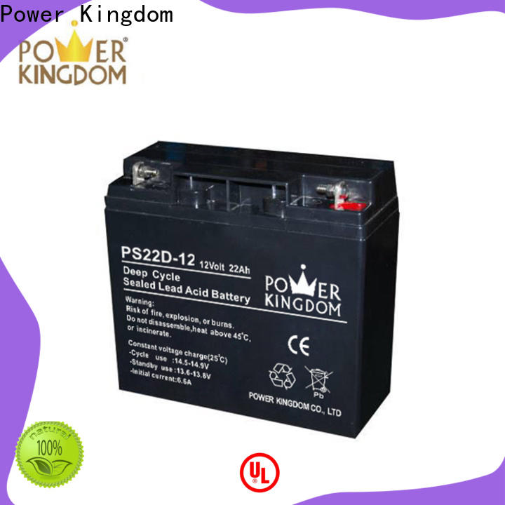 Power Kingdom Latest deep cycle sealed lead acid battery Suppliers