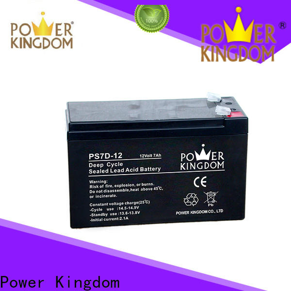 Power Kingdom 105ah deep cycle marine battery Suppliers wind power systems