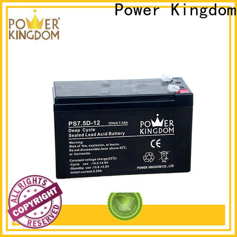 Power Kingdom flooded deep cycle battery company vehile and power storage system