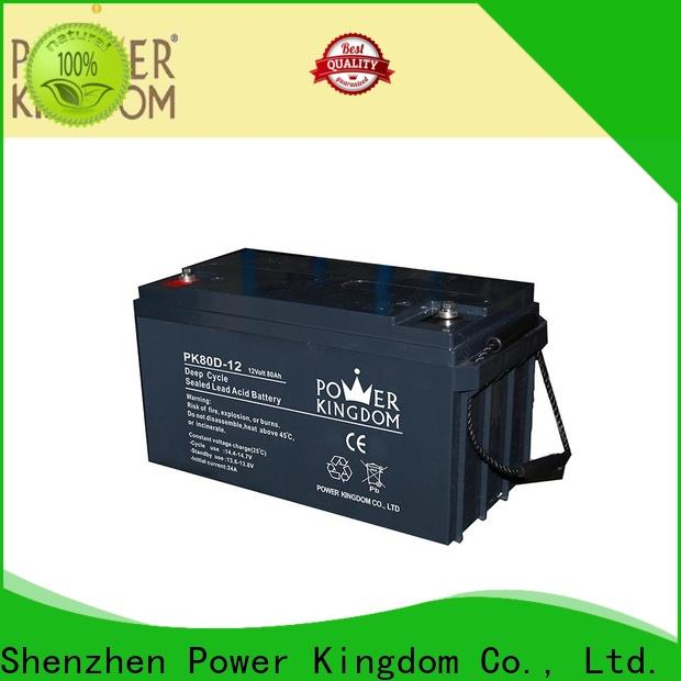 Power Kingdom New deep cell battery prices for business wind power systems