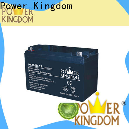 Power Kingdom Best 80 amp hour deep cycle battery Suppliers vehile and power storage system