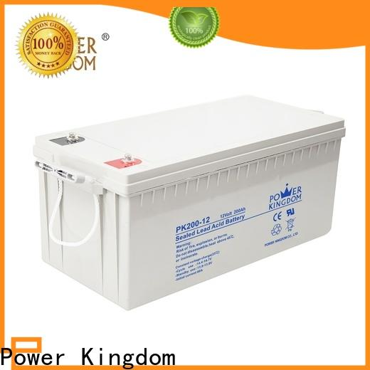 Power Kingdom High-quality advanced agm batteries supplier deep discharge device