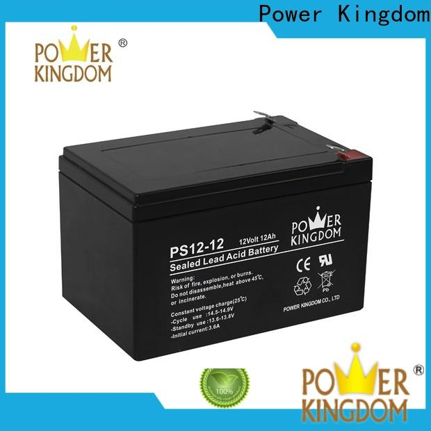 Power Kingdom Custom agm boat battery company deep discharge device