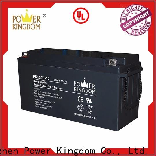 Power Kingdom trojan agm batteries personalized deep discharge device