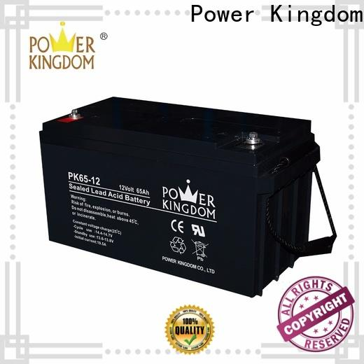 Power Kingdom 100 amp hour agm deep cycle battery Suppliers wind power systems