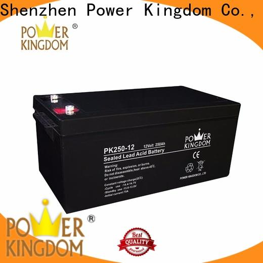 Power Kingdom Wholesale gel cell marine batteries factory wind power systems