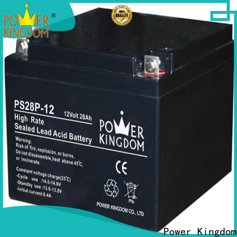 Power Kingdom lead acid battery charging factory fire system