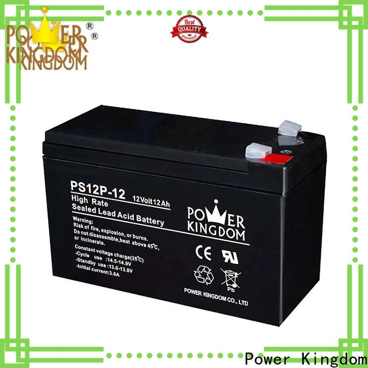 Power Kingdom Low Pressure Venting System lead acid battery backup widely use UPS & EPS system