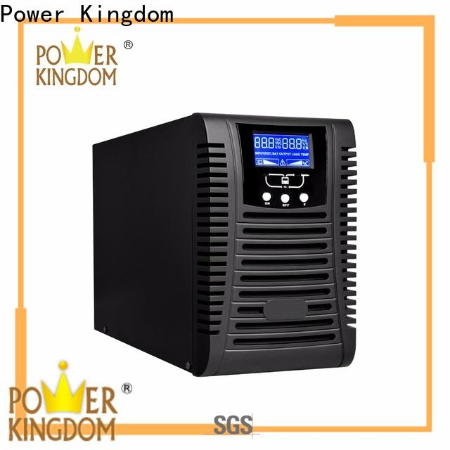 Power Kingdom online double conversion ups system Supply for security system