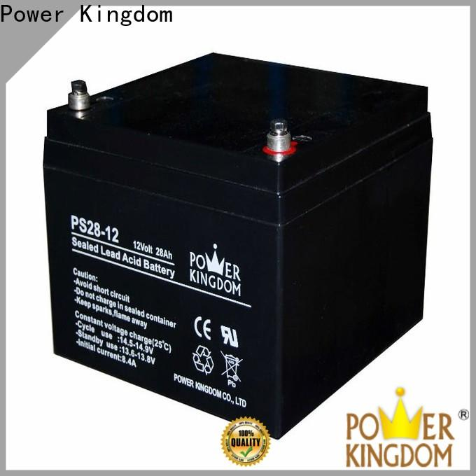 Power Kingdom higher specific energy lead acid accumulators factory solor system