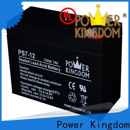 Power Kingdom high consistency non spillable rechargeable sla battery design solor system
