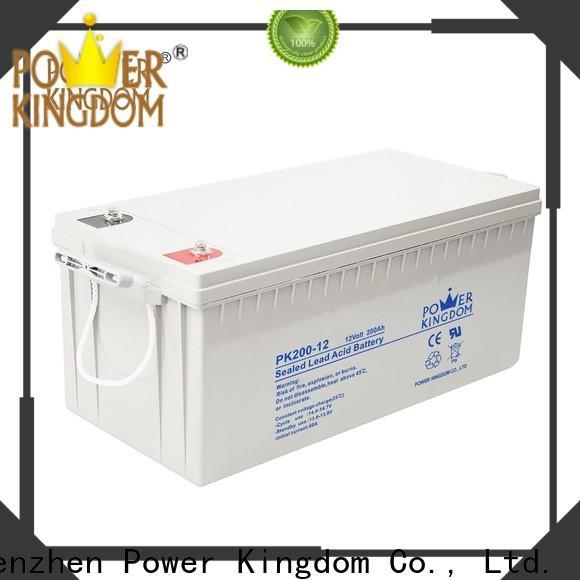 Power Kingdom 18 volt lead acid battery manufacturers solor system