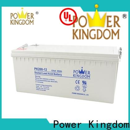Power Kingdom lead calcium battery manufacturers medical equipment