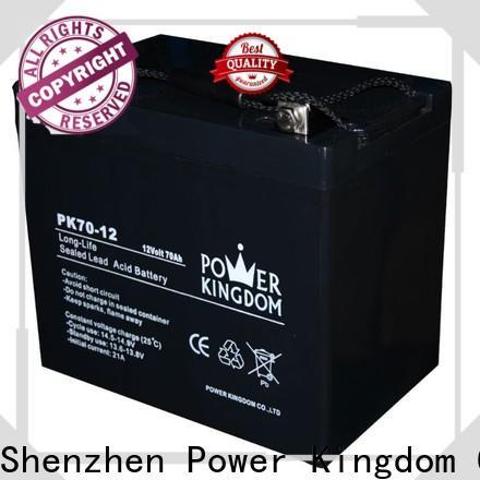 Power Kingdom 12v 7ah lead acid battery charger manufacturers medical equipment