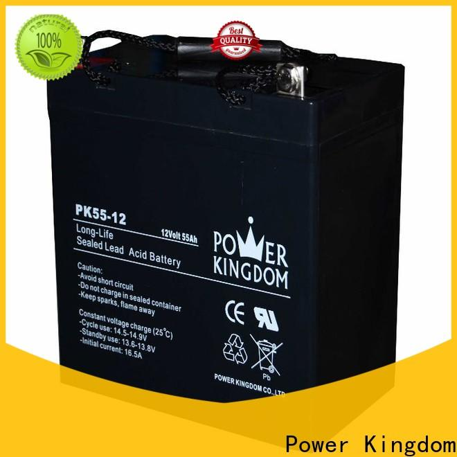 Power Kingdom Latest lead acetate battery company wind power system