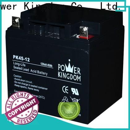 Power Kingdom New sealed lead acid battery nz factory solor system