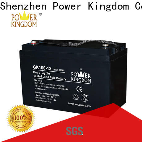 higher specific energy 12 volt sla rechargeable battery factory solor system