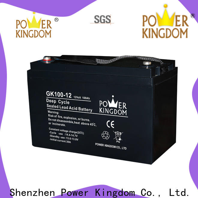 Power Kingdom sealed lead acid battery cp0660 company solor system