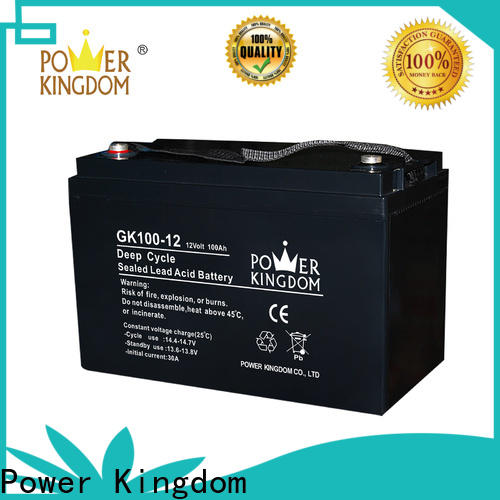 Power Kingdom Custom 6v 5ah sealed lead acid battery company solor system