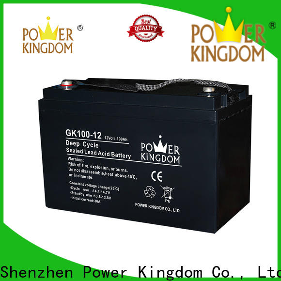 Power Kingdom New buy acid for battery for business solor system