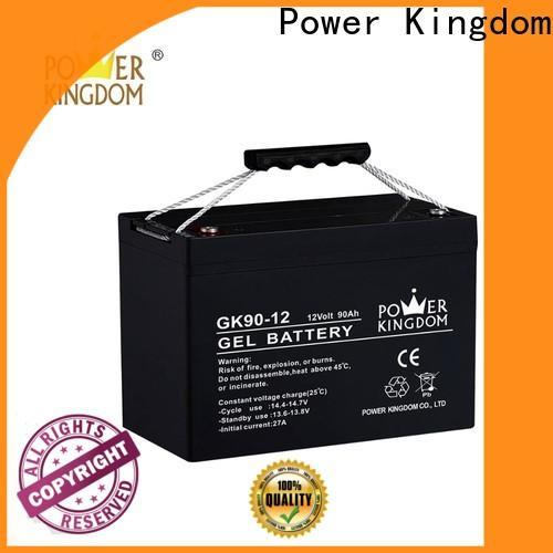 Power Kingdom Custom 100ah sealed lead acid battery company solor system