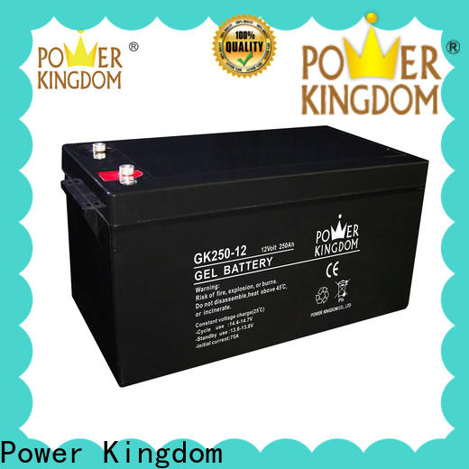 Power Kingdom lead acid battery storage manufacturers solor system