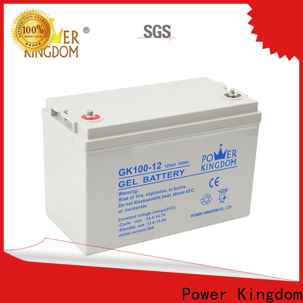 Power Kingdom 2v 100ah lead acid battery factory wind power system