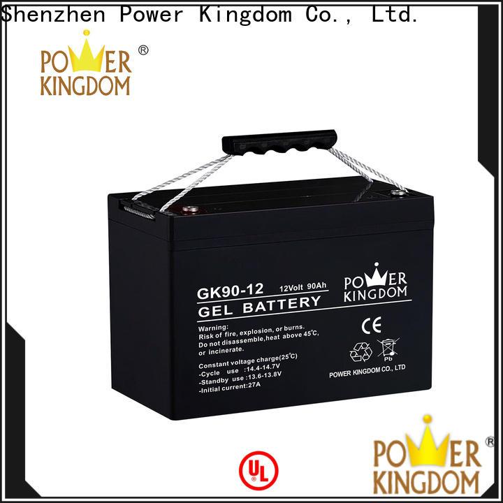 Power Kingdom High-quality 12 volt sla battery factory medical equipment